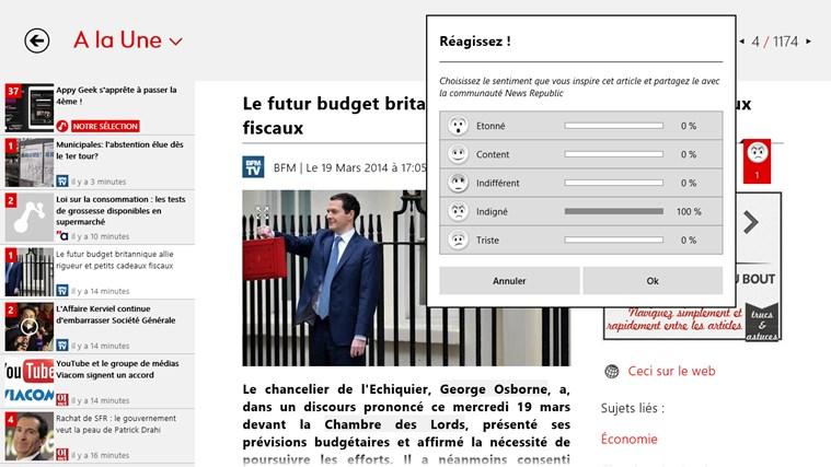 News Republic capture d'écran 4