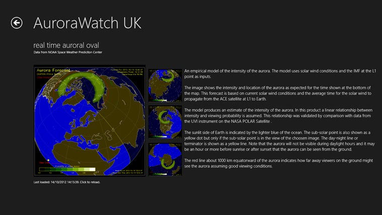 AuroraWatch UK screen shot 4