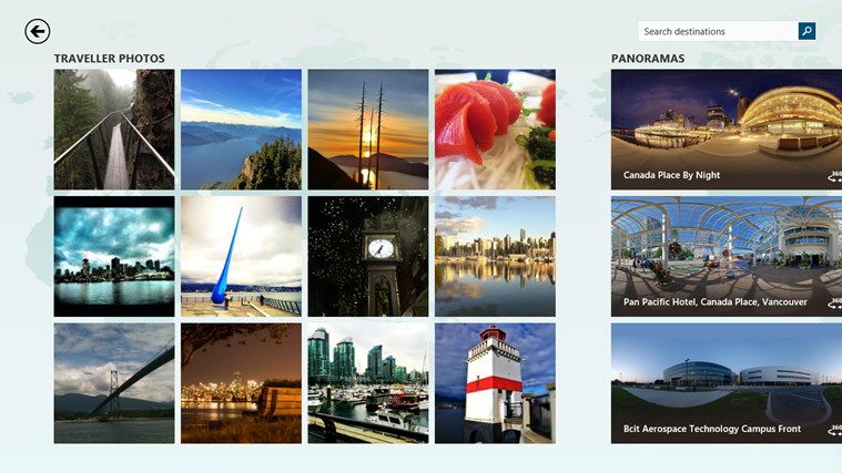 MSN Travel screen shot 2