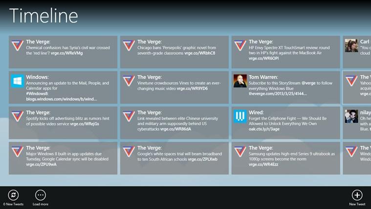 Warbler full screenshot