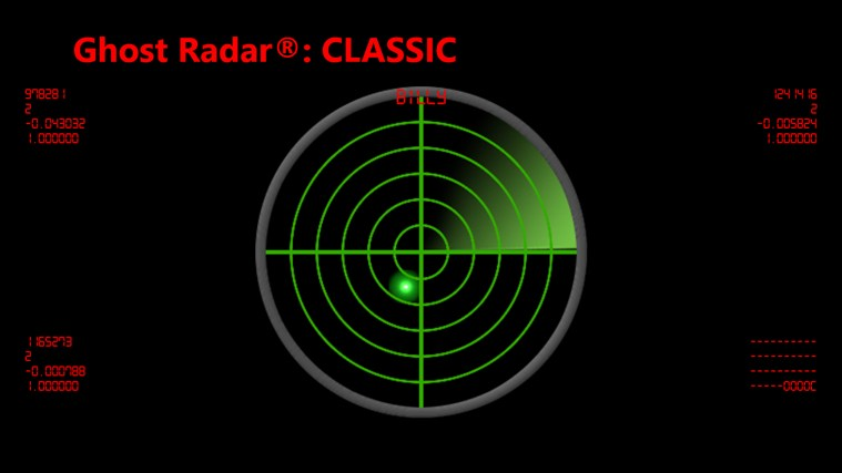 Ghost Radar®: CLASSIC screen shot 0