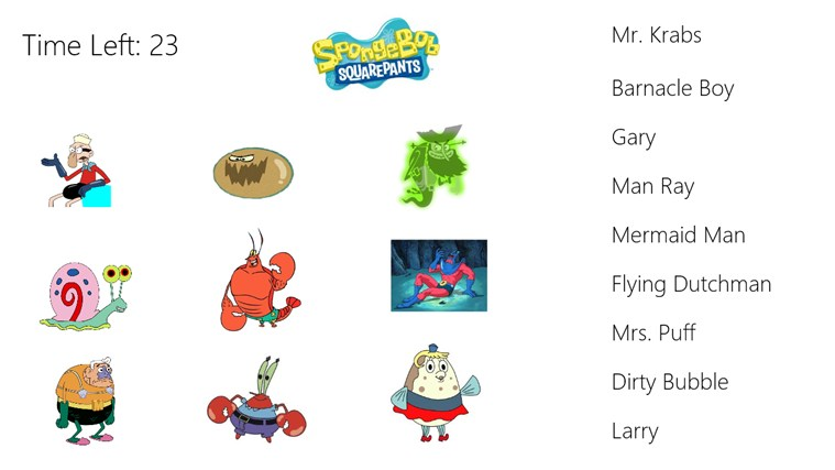 All Spongebob Characters Names Each character s name withAll Spongebob Characters Names