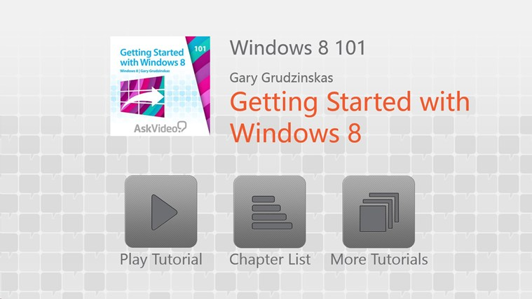 Windows 8: Getting Started Tangkapan Layar 0