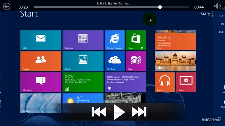 Windows 8: Getting Started Tangkapan Layar 2