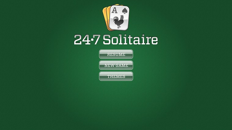 card games solitaire 24/7