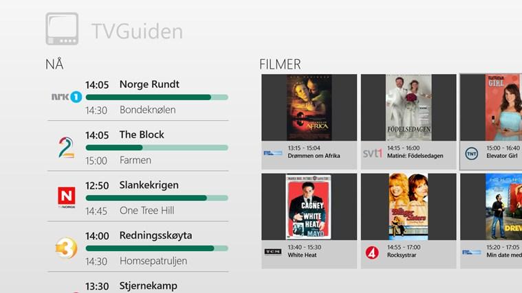 TVGuiden skjermbilde 0