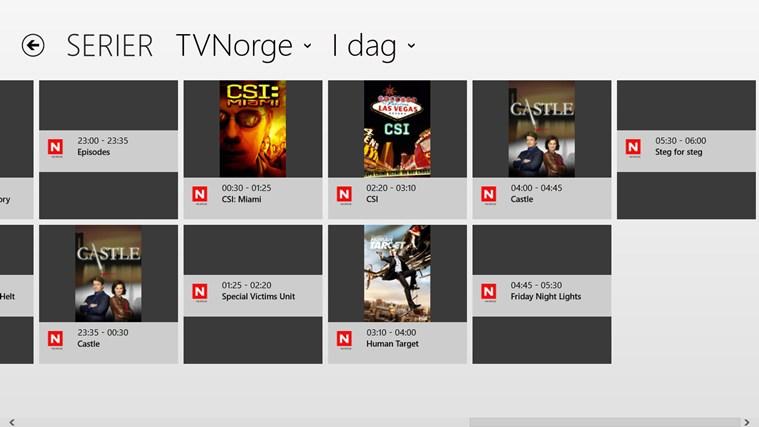 TVGuiden skjermbilde 4