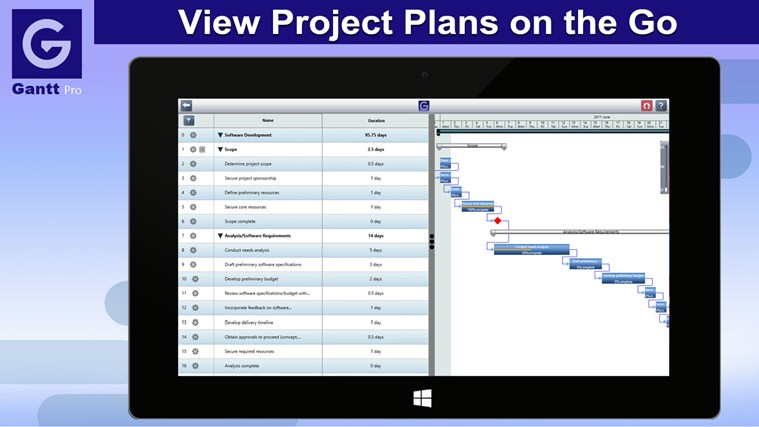 Gantt Pro screen shot 0