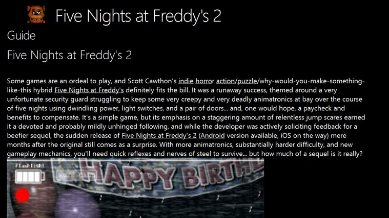 Five nights at freddys walkthrough no commentary fnaf