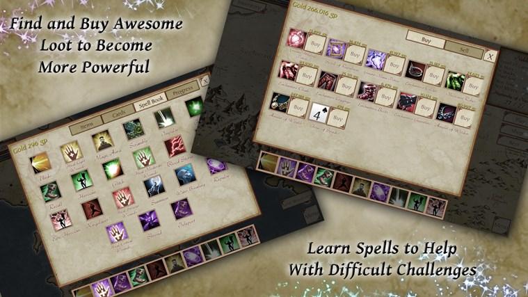 FreeCell Quest screen shot 2