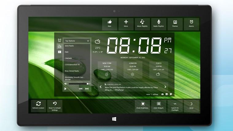 Alarm Clock HD screen shot 2