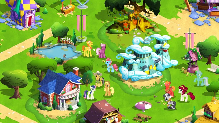 MY LITTLE PONY - Friendship is Magic screen shot 4