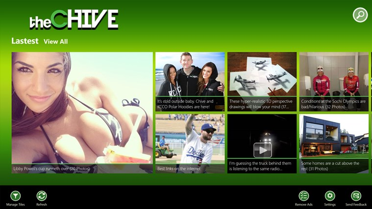 The Chive screen shot 0