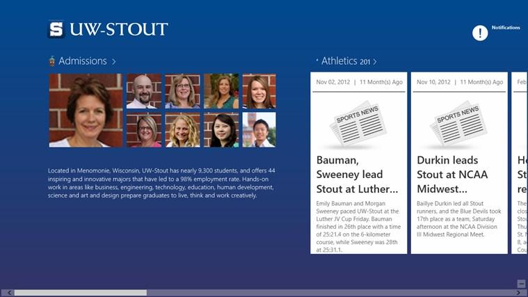 UW-Stout screen shot 0