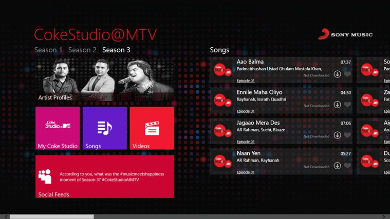 CokeStudio @MTV screen shot 0