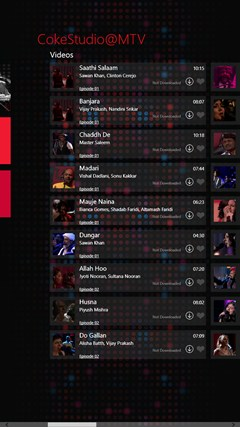 CokeStudio @MTV screen shot 6