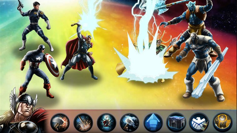 Avengers Alliance screen shot 2