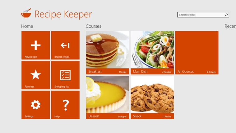 Recipe Keeper Pro screen shot 0