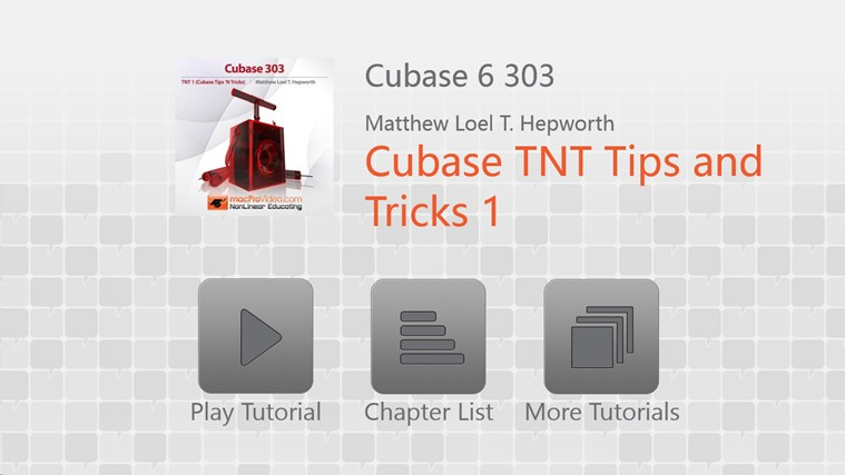 Cubase 6: Tips & Tricks اسکرین شاٹ 0