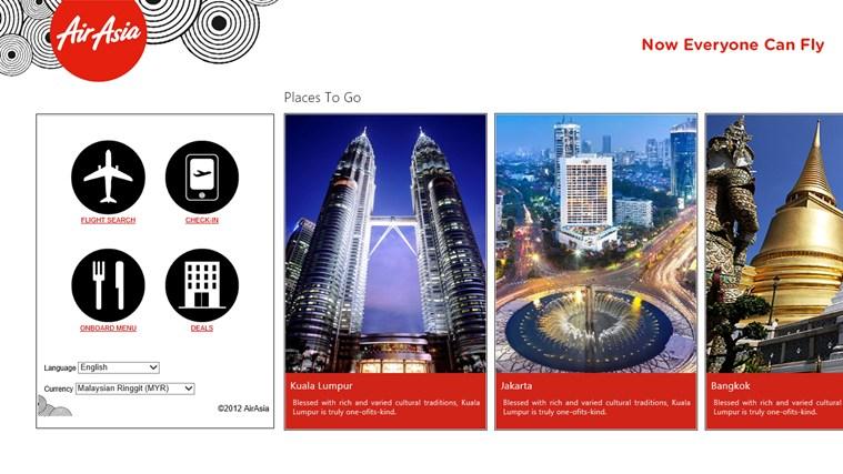 AirAsia capture d'écran 0