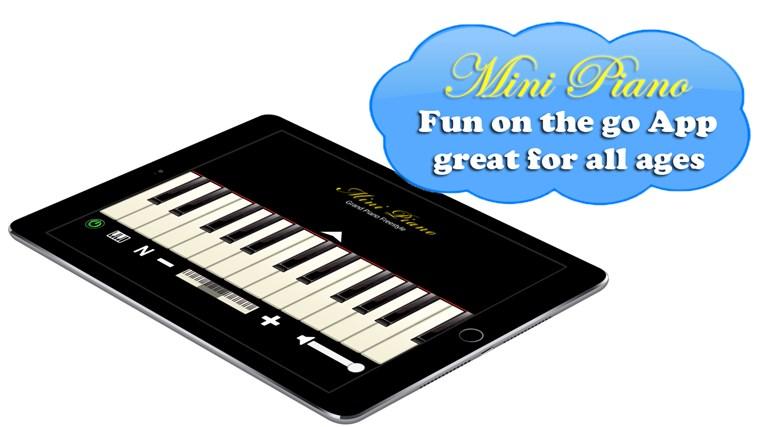 Mini Piano ® petikan skrin 0