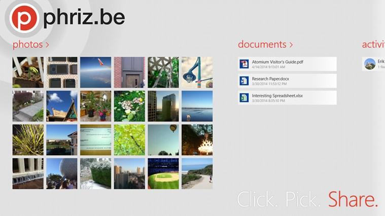 Phriz.be screen shot 0