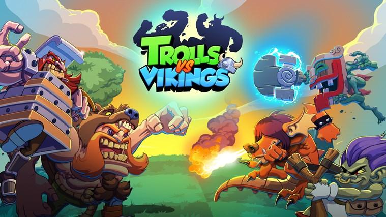 Trolls vs Vikings skjermbilde 0