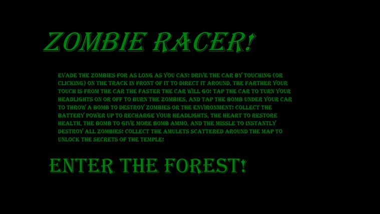 Zombie Race! screenshot 0