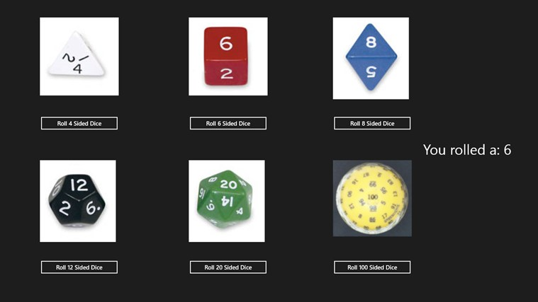 8 sided dice simulator