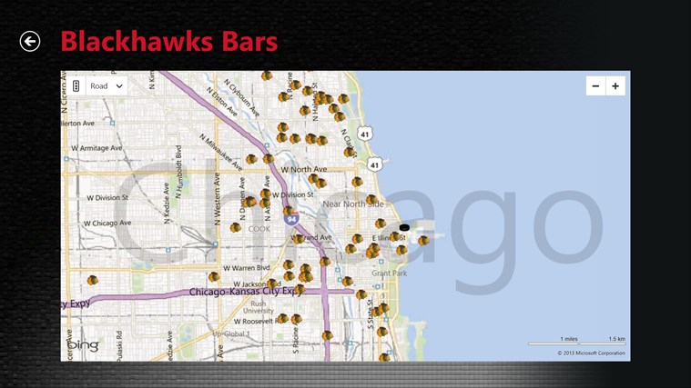 Chicago Blackhawks screen shot 2