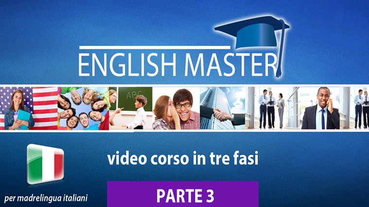 ENGLISH MASTER – video corso PARTE 3 (35003) screen shot 0