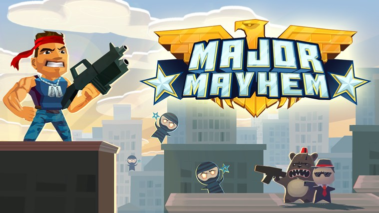 Major Mayhem screen shot 0