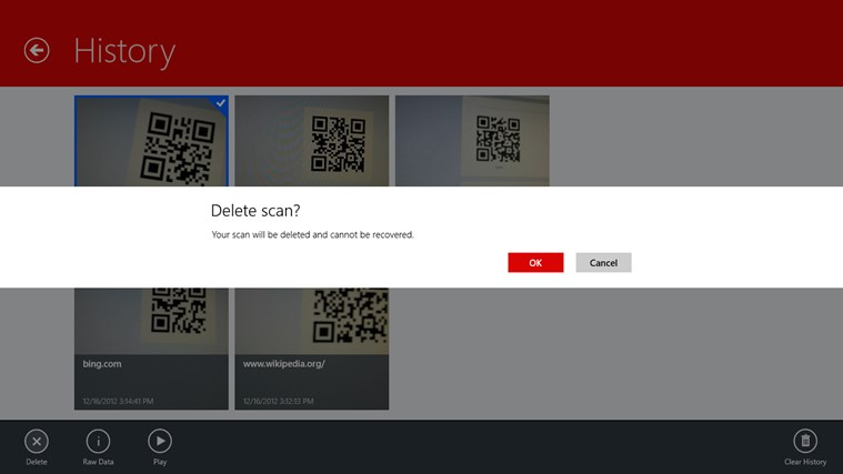 Scan - QR Code and Barcode Reader screen shot 4