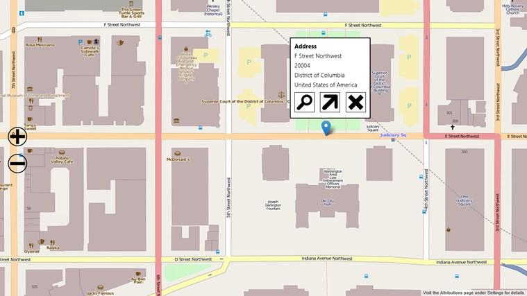 Open Map screen shot 4