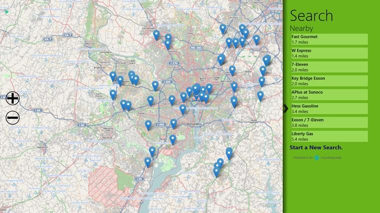 Open Map screen shot 6