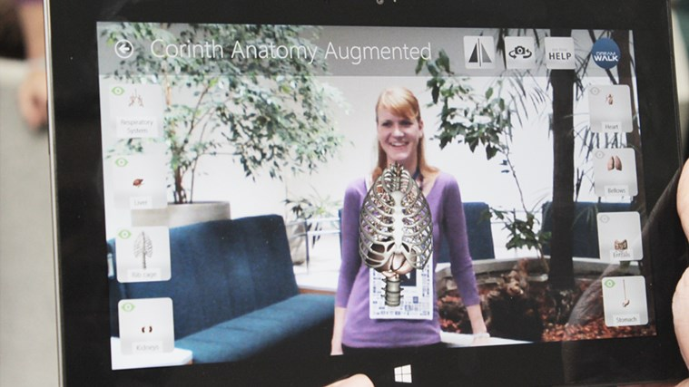 Corinth Micro Anatomy Augmented screen shot 4