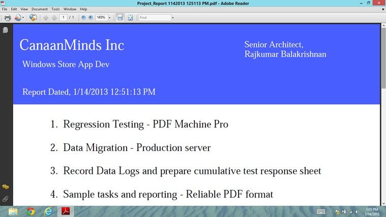PDF Reporter PRO 스크린샷 2