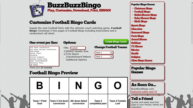 Bingo Maker captura de tela 2
