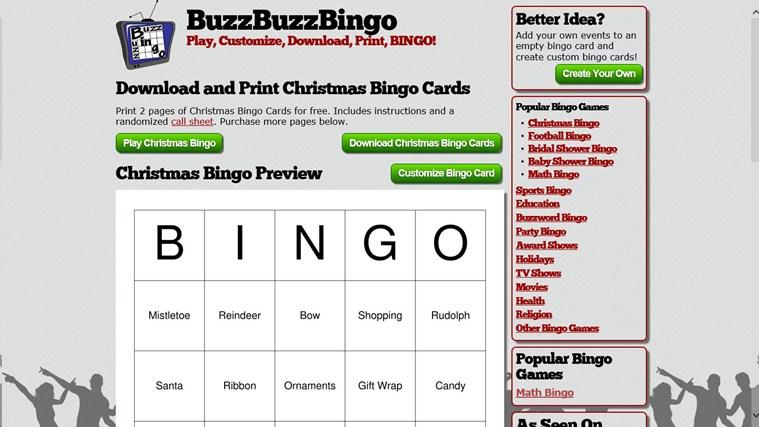 Bingo Maker captura de tela 4