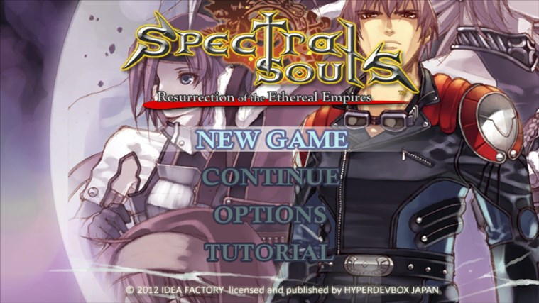 Spectral Souls (ENG) screen shot 0