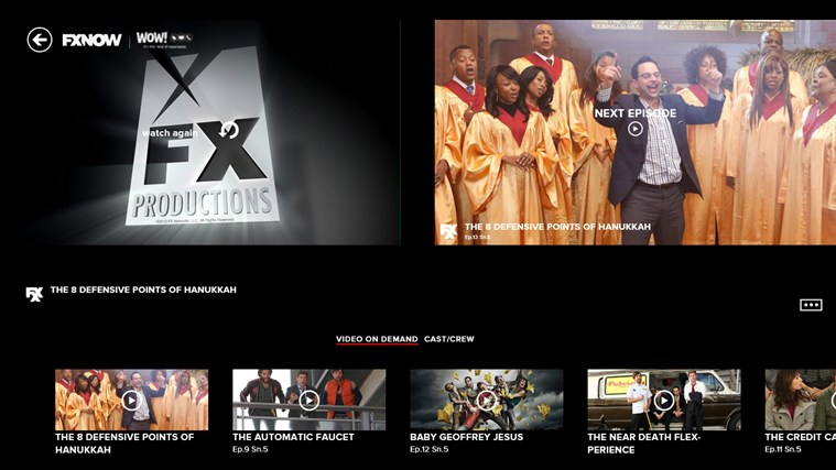 FXNOW screen shot 4