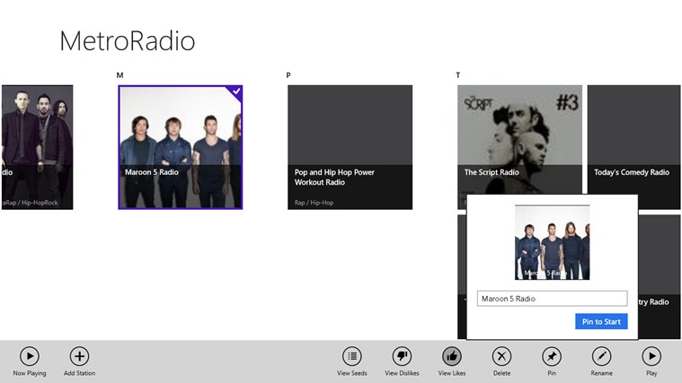 MetroRadio screen shot 6