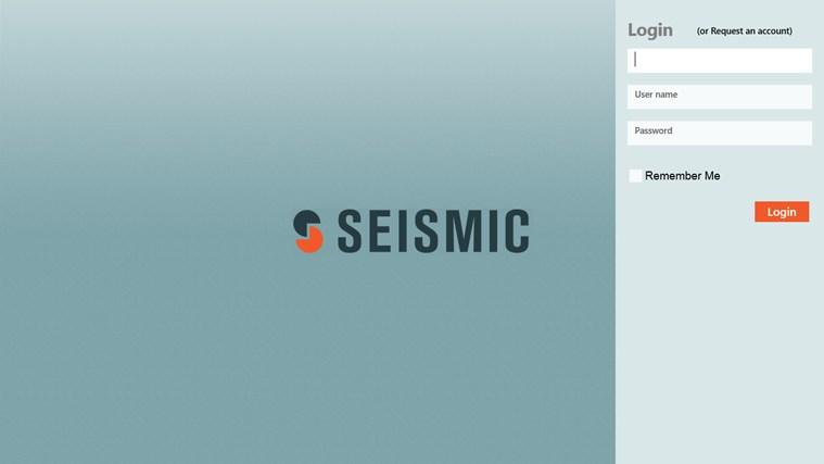 Seismic full screenshot
