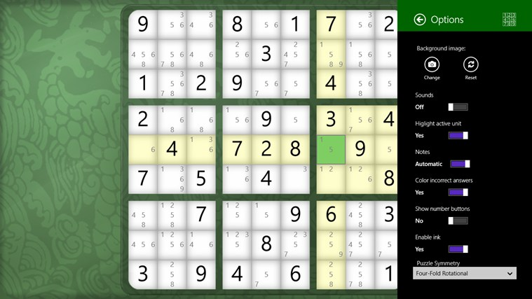 Sudoku Classic screen shot 2