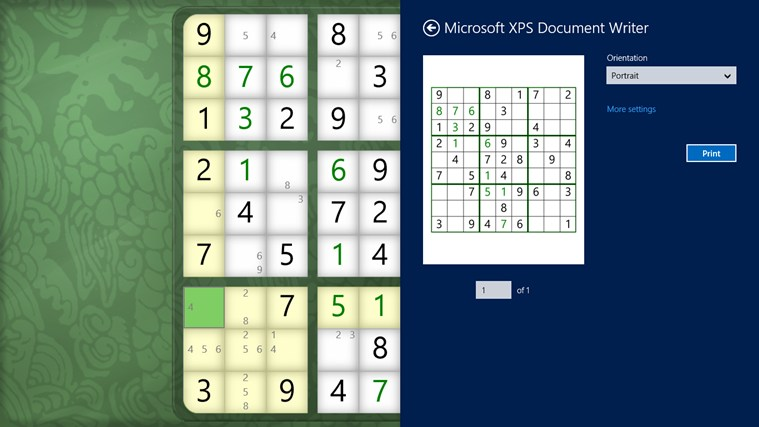 Sudoku Classic screen shot 4