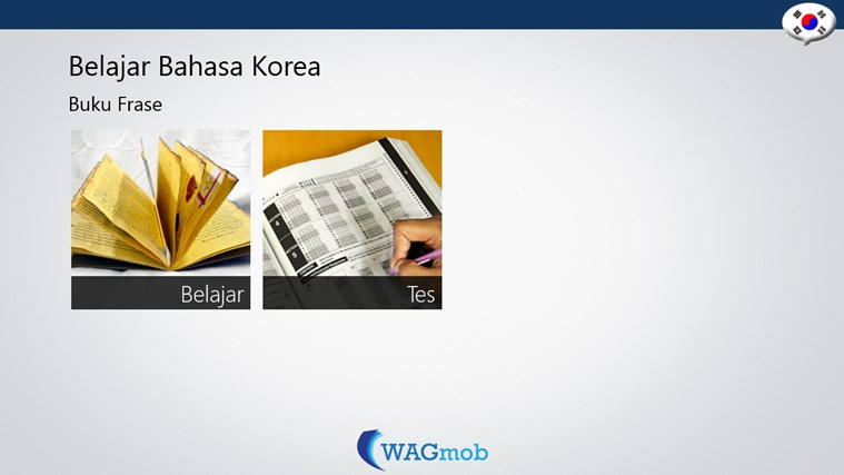 Belajar Bahasa Korea-Buku Frase screen shot 0
