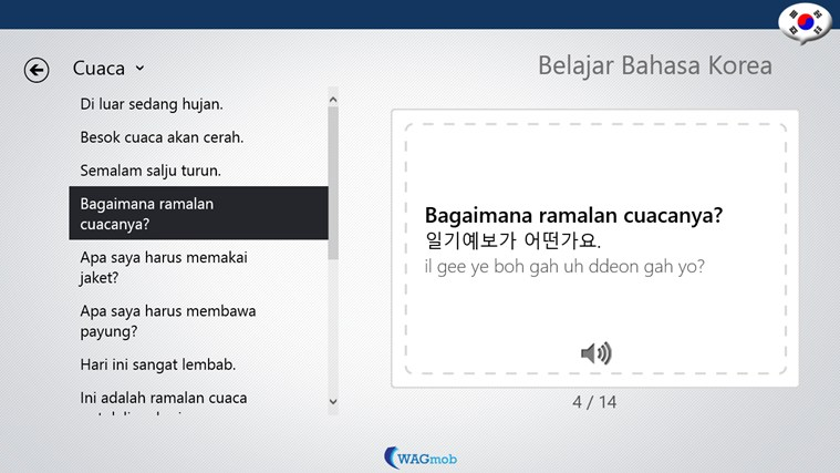 Belajar Bahasa Korea-Buku Frase screen shot 2