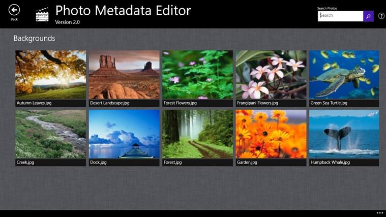 Photo Metadata Editor screenshot 0