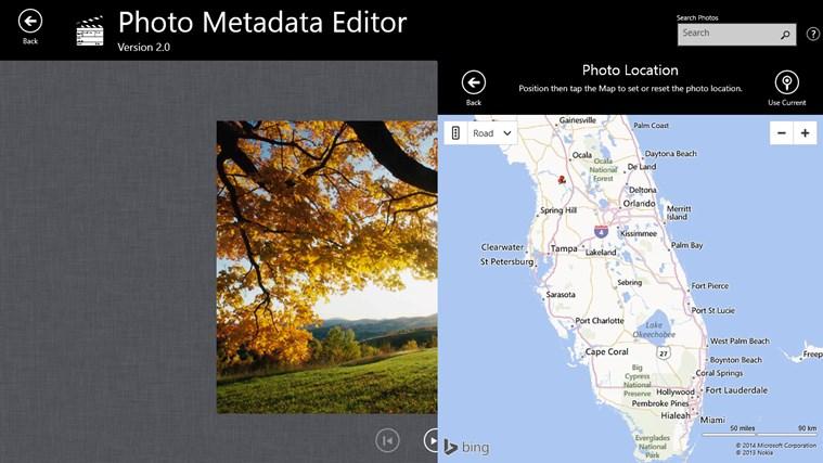 Photo Metadata Editor screenshot 2