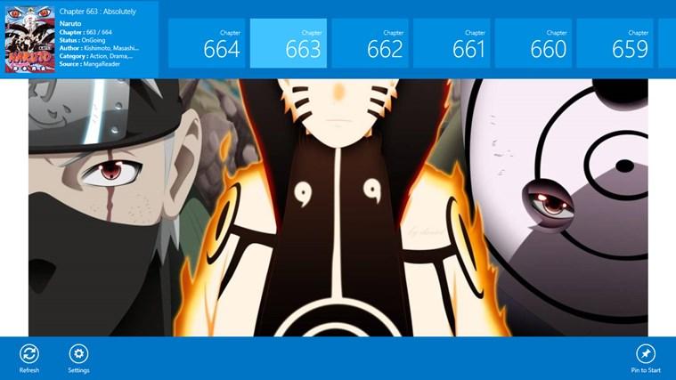 Manga Comics screen shot 4